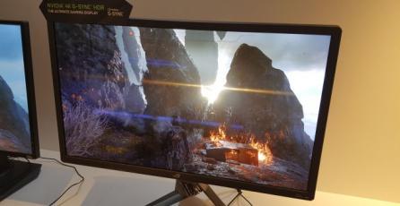 NVIDIA anuncia monitores G-Sync con HDR incorporado para este año