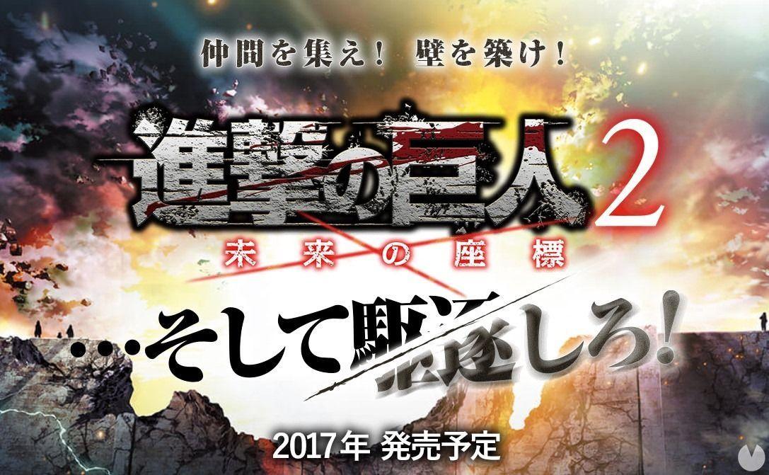 Anuncian Attack on Titan 2: Future Coordinates para Nintendo 3DS