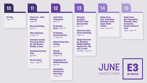 E3 Calendario.La Gran Guia De Conferencias Streams Y Horarios De La E3