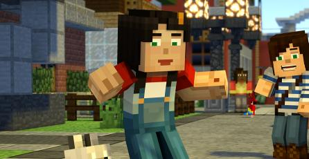 Confirman la segunda temporada de <em>Minecraft: Story Mode</em>