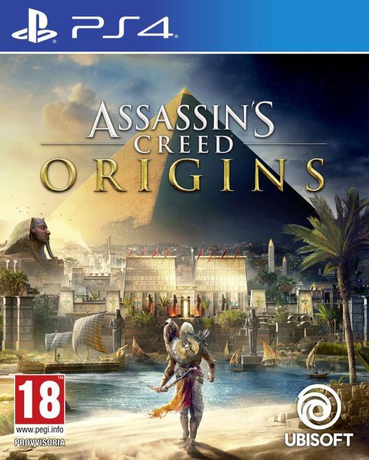 Capturas y ediciones especiales de <em>Assassin's Creed: Origins</em>