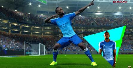 ¡No es broma! Usain Bolt será rostro de Pro Evolution Soccer 2018