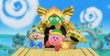 Habrá juego de Kirby para Nintendo Switch
