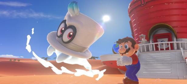 Se confirma modo cooperativo para <em>Super Mario Odyssey</em>