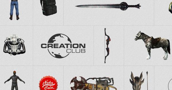Bethesda: Creation Club es para promocionar mods, no tanto para