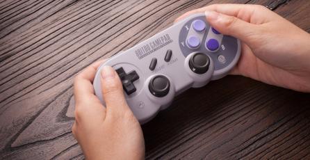 Esta réplica del control de SNES servirá en tu Nintendo Switch
