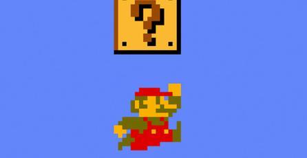 Así luce el mundo 1-1 de <em>Super Mario Bros.</em> en HoloLens