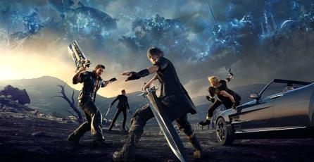 Así luce <em>Final Fantasy XV</em> corriendo en la Xbox One X