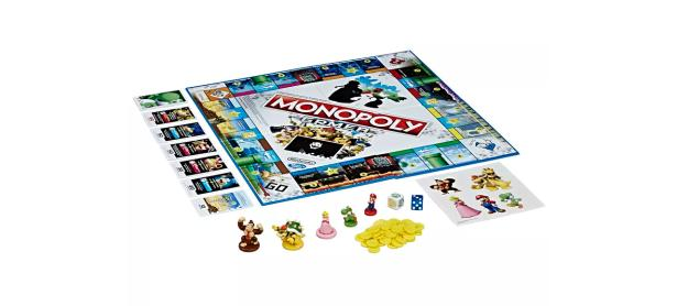 Hasbro revela un nuevo Monopoly de <em>Super Mario Bros.</em>