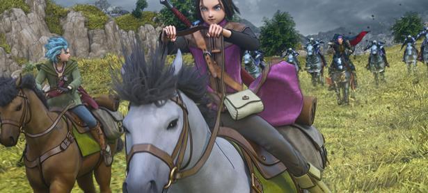 Checa las nuevas capturas de <em>Dragon Quest XI</em>