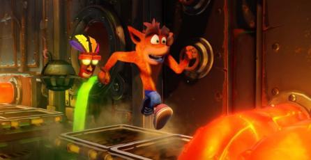 <em>Crash: N.Sane Trilogy</em> fue uno de los juegos más vendidos de junio en PSN