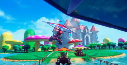 Así se ve la acción de <em>Mario Kart</em> en realidad virtual