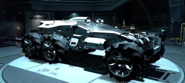 Convierten un auto en el Nomad de <em>Mass Effect: Andromeda</em>