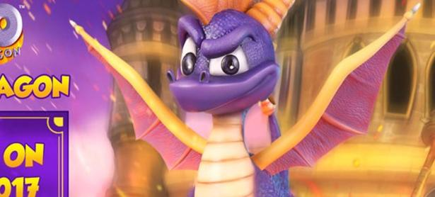 Rinde homenaje a tu infancia con esta estatua de <em>Spyro the Dragon</em>