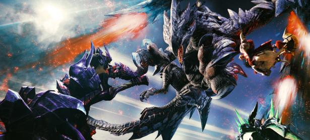 Derrotan a un Ukanlos en el nuevo video de <em>Monster Hunter XX</em> para Switch