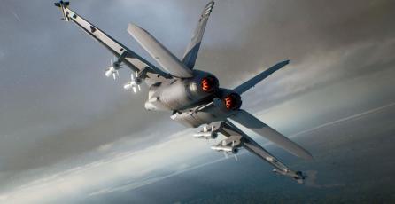 Pronto mostrarán más de <em>Ace Combat 7</em> en PS VR