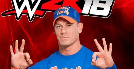 Revelan edición de colección para <em>WWE 2K18</em> de John Cena