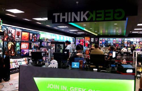 Agregar los productos de ThinkGeek a su catálogo le dio un gran valor agregado a lo que ofrece GameStop