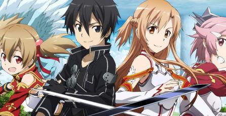 Nuevo juego de <em>Sword Art Online</em> será anunciado en octubre