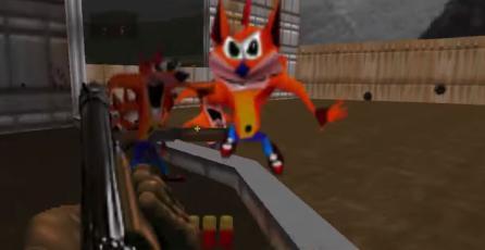 Acaba con Crash Bandicoot en este mod para <em>DOOM</em>