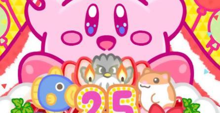 Nintendo celebra el 25.° aniversario de Kirby