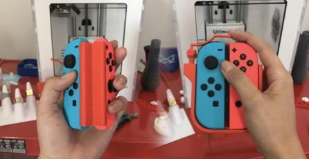 Ingeniero crea dispositivos para jugar Nintendo Switch con una sola mano