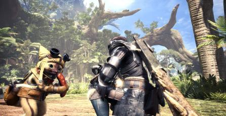 Capcom muestra dos nuevos avances de <em>Monster Hunter World</em>