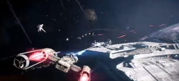 <em>Star Wars Battlefront II</em> nos da el primer vistazo al modo Starfighter Assault