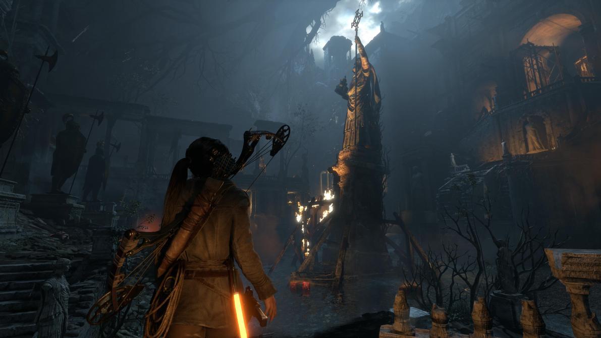 Así se ve <em>Rise of the Tomb Raider</em> en Xbox One X