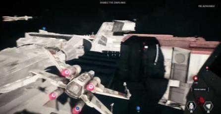 Así serán las batallas espaciales en <em>Star Wars: Battlefront II</em>