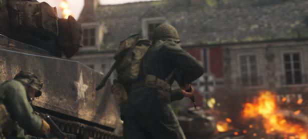 Así luce el nuevo espacio social de <em>Call of Duty: WWII</em>