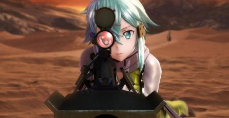 Ve el nuevo gameplay de <em>Sword Art Online: Fatal Bullet</em>