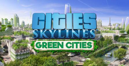 Muestran <em>Green Cities</em>, nueva expansión de <em>Cities: Skylines</em>
