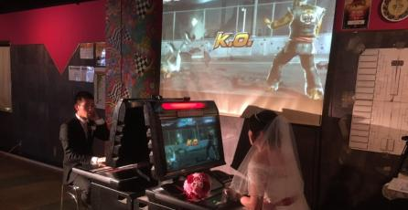 Pareja contrae matrimonio en un arcade e inmediatamente pelean en <em>Tekken</em>