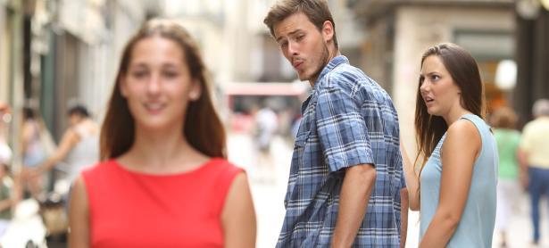 El nuevo meme del momento: <em>Disloyal Man</em>