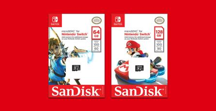 Varios juegos de Nintendo Switch necesitarán tener una tarjeta MicroSD