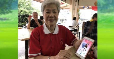 Con 84 años esta entrenadora de <em>Pokémon Go</em> está por completar el Pokédex