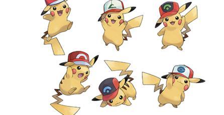 El Pikachu con gorra de <em>Pokémon Sun & Moon</em> también llegará a Occidente