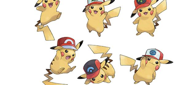 El Pikachu con gorra de <em>Pokémon Sun &amp; Moon</em> también llegará a Occidente