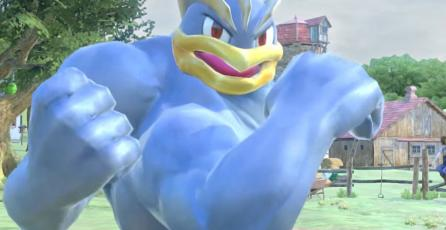 Machamp muestra sus movimientos en <em>Pokkén Tournament DX</em>