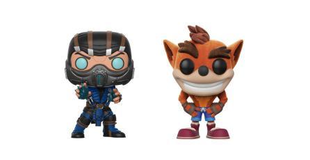 Funko Pop anuncia colecciones de <em>Crash Bandicoot</em> y <em>Mortal Kombat</em>