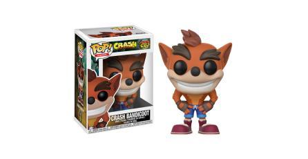 <em>Crash Bandicoot</em> tendrá una línea de figuras Funko Pop!
