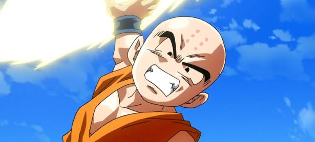 Krillin luce sus habilidades en <em>Dragon Ball FighterZ</em>