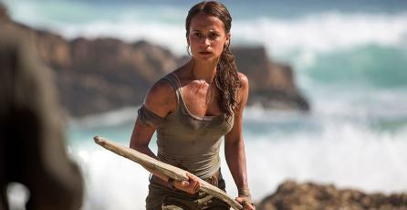 Fans critican póster de la película de <em>Tomb Raider</em>