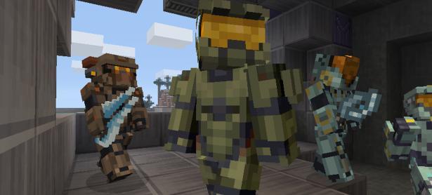 Podrás jugar como el Master Chief en <em>Minecraft</em> para Switch