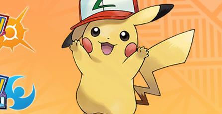 Ya puedes conseguir un Pikachu con gorra de Ash en <em>Pokémon Sun & Moon</em>
