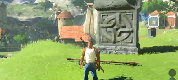 Mod lleva a CJ de <em>GTA: San Andreas</em> a <em>Zelda: Breath of The Wild</em>