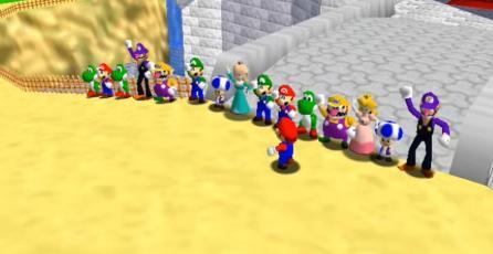 Nintendo baja por copyright mod de <em>Super Mario 64 Online</em>
