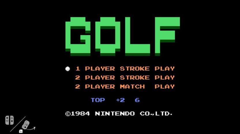 Así luciría la pantalla principal de Golf en Switch