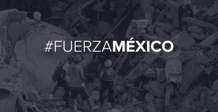 LEVEL UP en apoyo a víctimas del terremoto de México